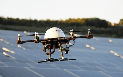 Remote patrol of areas by Drone